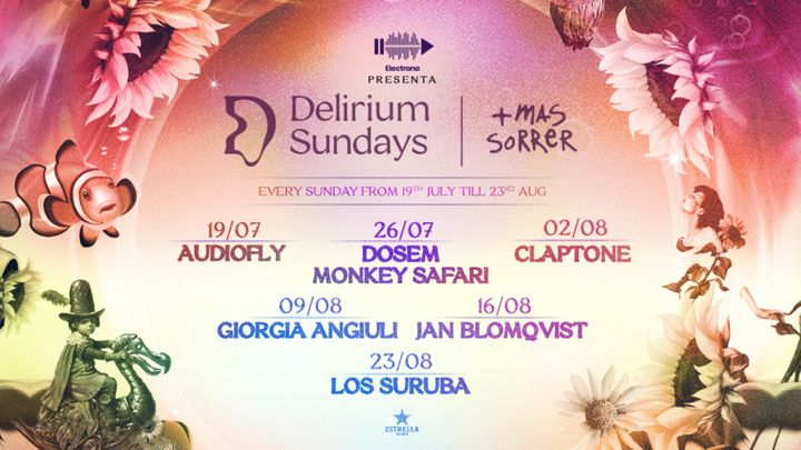 Cover for event: DELIRIUM SUNDAYS presenta CLAPTONE