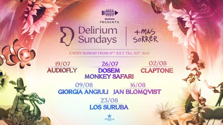 Cover for event: DELIRIUM SUNDAYS presenta JAN BLOMQVIST