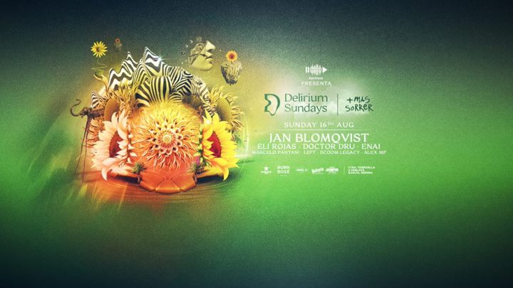 Cover for event: (CANCELADO) DELIRIUM SUNDAYS presenta JAN BLOMQVIST