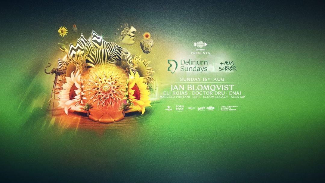 Cartel del evento (CANCELADO) DELIRIUM SUNDAYS presenta JAN BLOMQVIST