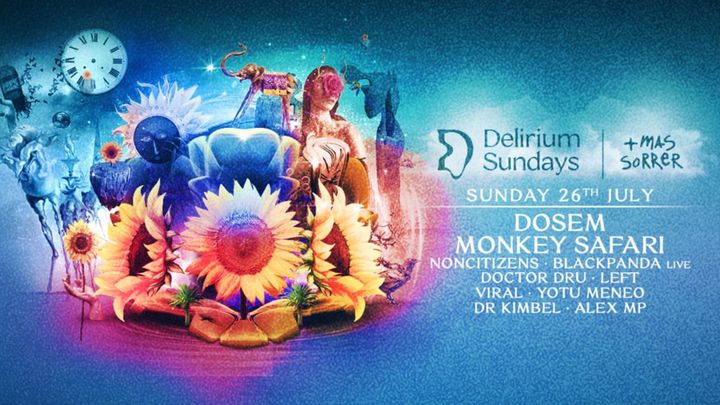 Cover for event: DELIRIUM SUNDAYS presenta MONKEY SAFARI & DOSEM