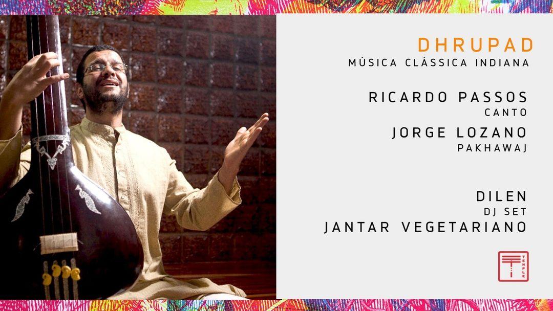 DHRUPAD - Música Clássica Indiana + Jantar vegetariano event cover