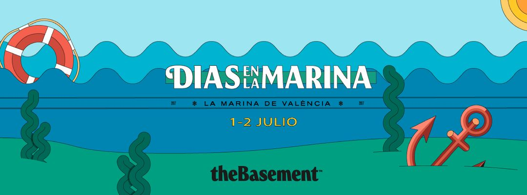 Cartel del evento Días en La Marina * Valencia
