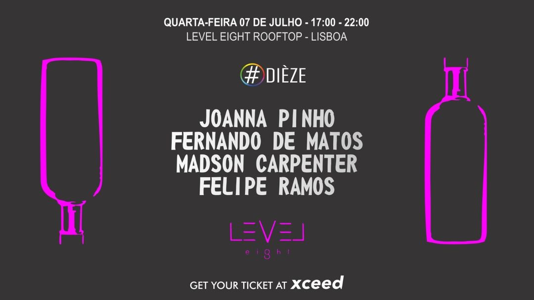 Cartel del evento Diéze at Level Eight Rooftop