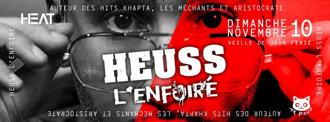 Dimanche 10 novembre - Heuss (veille de jour ferié) event cover