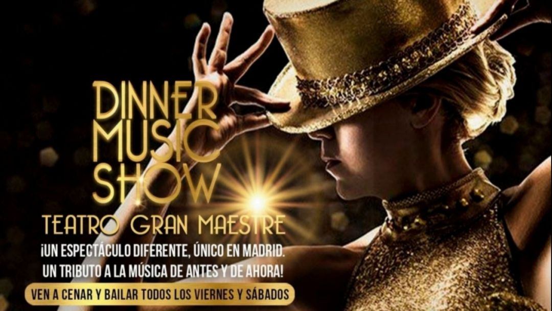 Cartel del evento DINNER  MUSIC  SHOW - GRAND OPENING 3 ABRIL