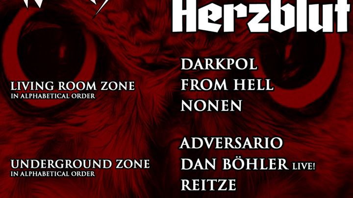 Cover for event: Disaster Madriz presenta Herzblut