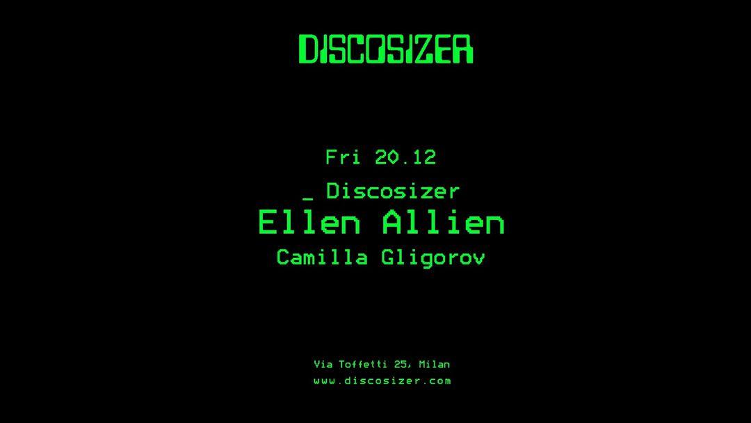 Copertina evento Discosizer _ Ellen Allien