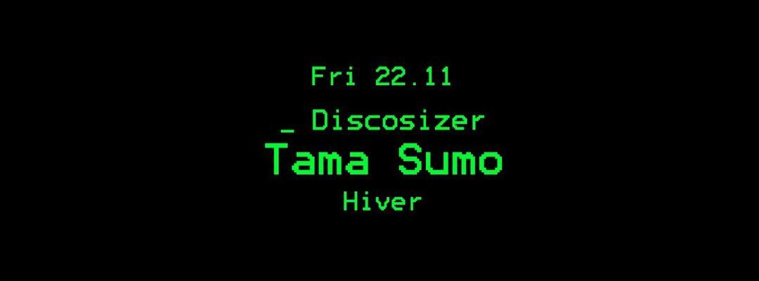Copertina evento Discosizer _ Tama Sumo