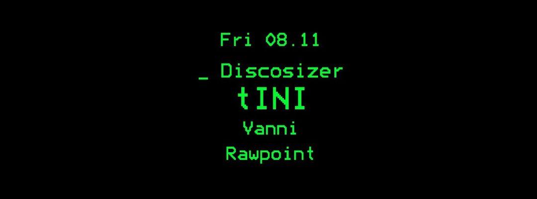 Copertina evento Discosizer _ tINI