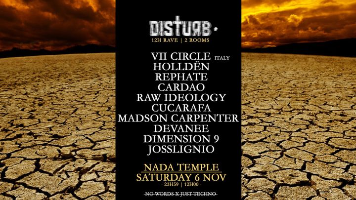 Cover for event: Disturb • 12h Rave