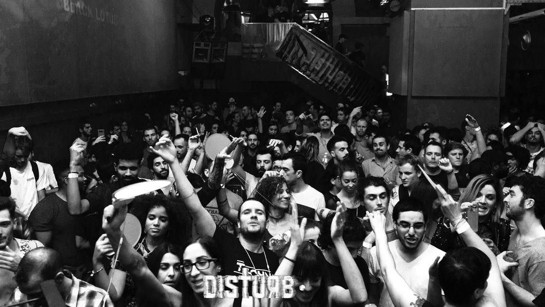 Cartel del evento Disturb • Welcome back to paranoia