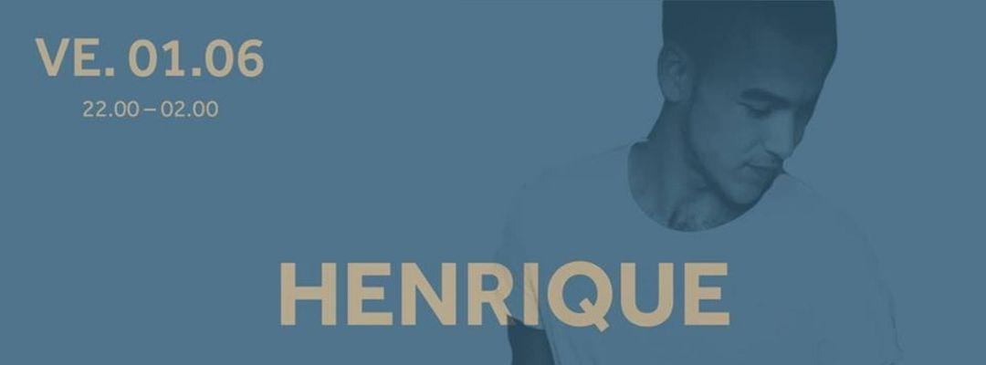Couverture de l'événement DJ Henrique