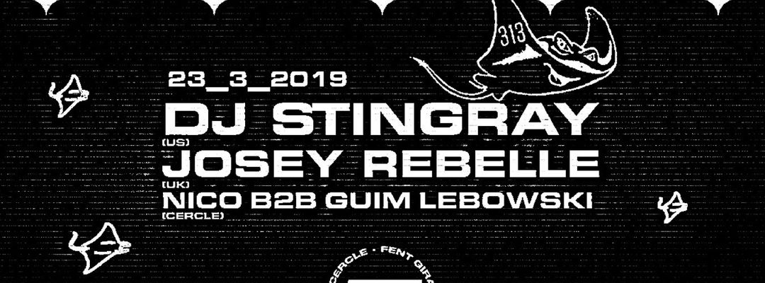 Cartel del evento Dj Stingray at Nitsa | Gilb'R at Astin