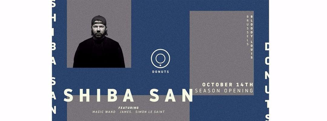 Cartel del evento DONUTS + SHIBA SAN + BLOODY LOUIS