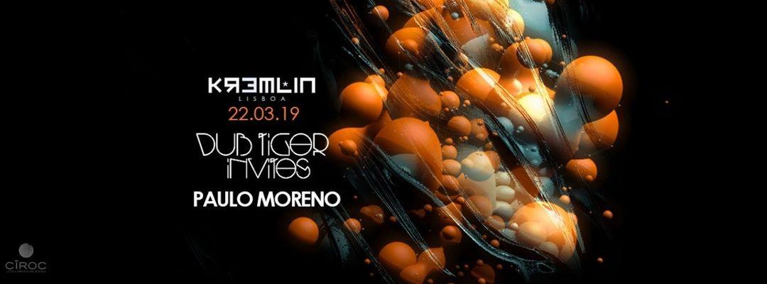 Capa do evento Dub Tiger Invites Paulo Moreno