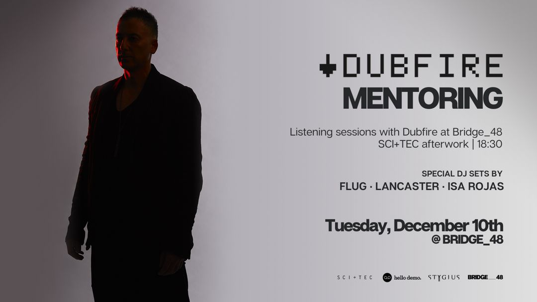 Dubfire Mentoring Results and Afterwork at Bridge_48 event cover