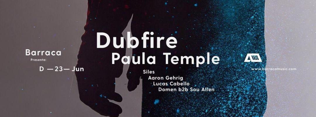 Cartel del evento Dubfire & Paula Temple