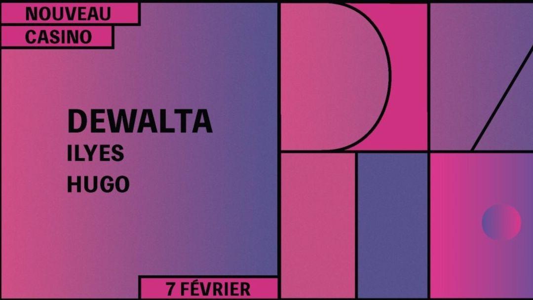 Cartel del evento DXL Records with DeWalta, Ilyes (Live)