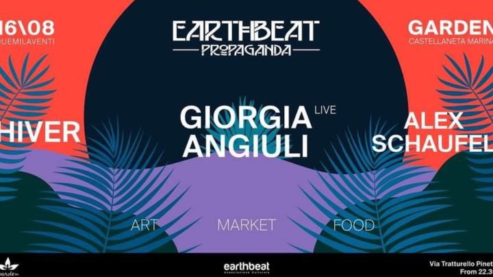 Cover for event: Earthbeat Propaganda at Garden w/ Giorgia Angiuli live