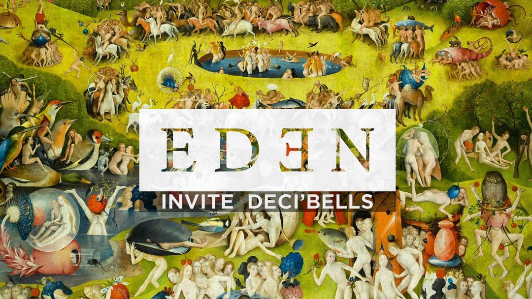 EDEN INVITE : DECI'BELLS event cover
