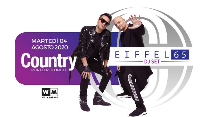 Cover for event: Eiffel 65 | Country Club