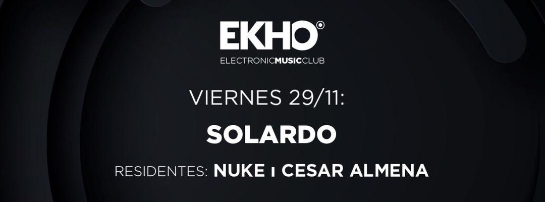 EKHO w/ Solardo event cover