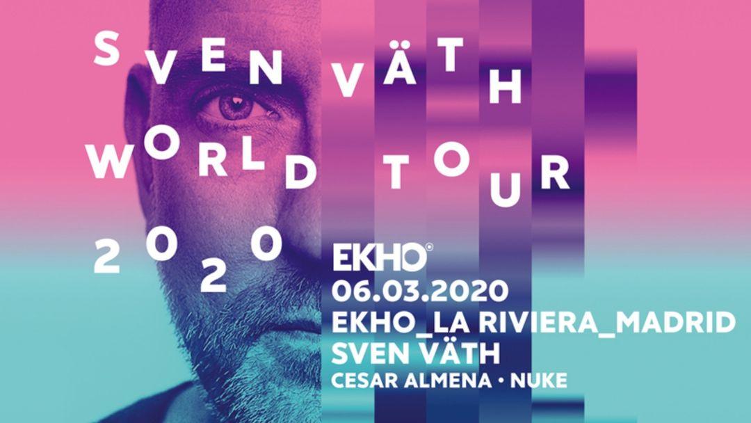 EKHO w/ Sven Väth event cover
