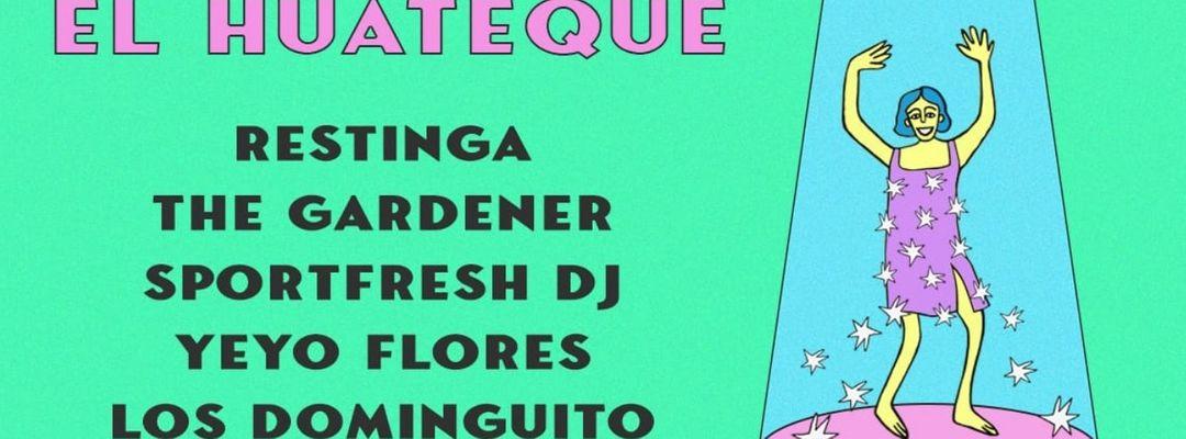 Cartel del evento El Huateque de Los Dominguito