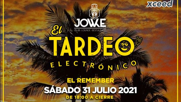 Cover for event: [CANCELADO] El Tardeo Electronico • Remember Summer 2021