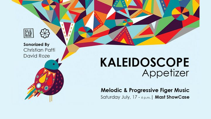 Cover for event: ELECTRIQUE presents: KALEIDOSCOPE APPETIZER