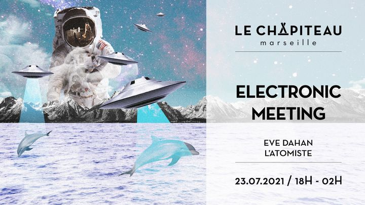 Cover for event: Electronic Meetings - Eve Dahan & L'Atomiste invitent Lö Pagani