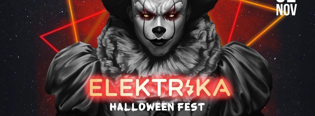 Cartel del evento ELEKTRIKA - HALLOWEEN FEST