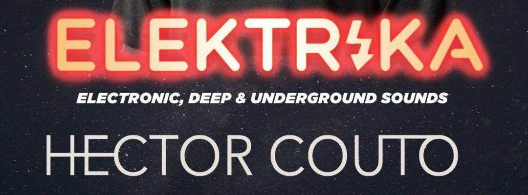 Cartel del evento ELEKTRIKA- HECTOR COUTO