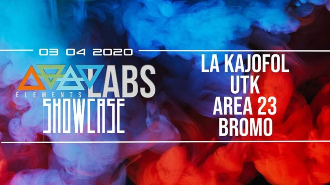 Cartell de l'esdeveniment Elements Showcase w/ La Kajofol, UTK, Area 23, Bromo at Follow Me