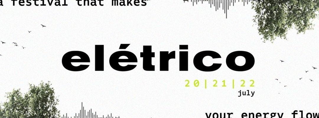 Elétrico - Porto Music Experience-Eventplakat