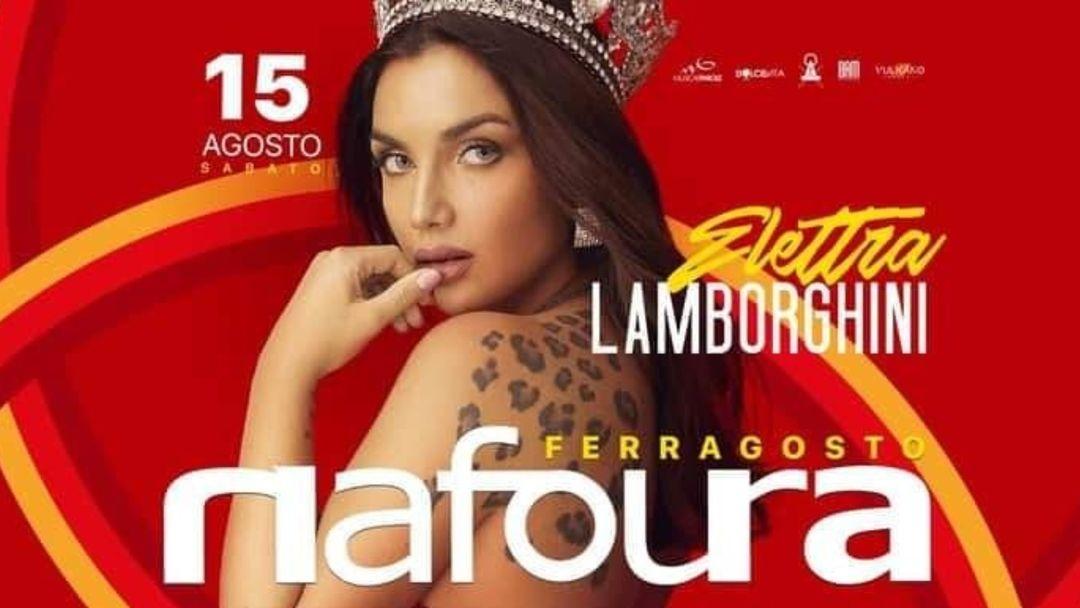 Elettra Lamborghini event cover