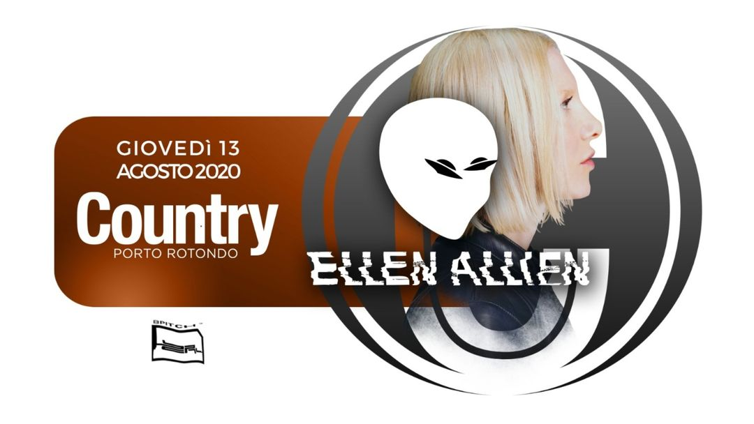 Ellen Allien | Country Club event cover