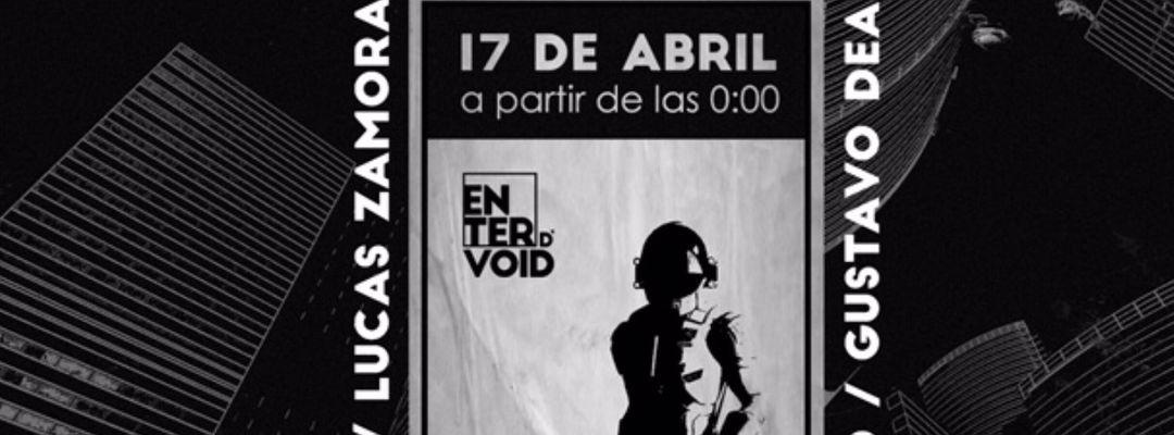 ENTERVOID 17 ABRIL-Eventplakat
