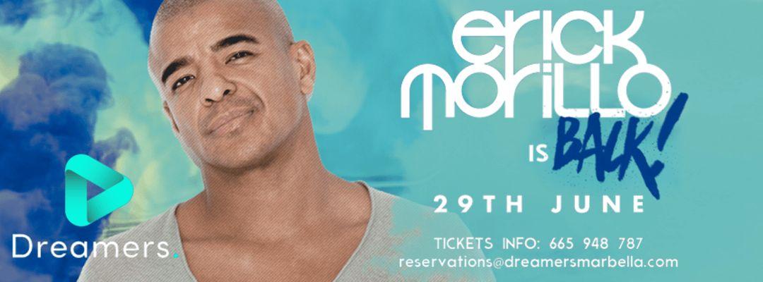 Cartel del evento Erick Morillo
