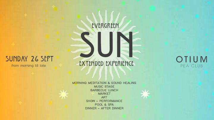 Cover for event: Evergreen Sun Extended Experience