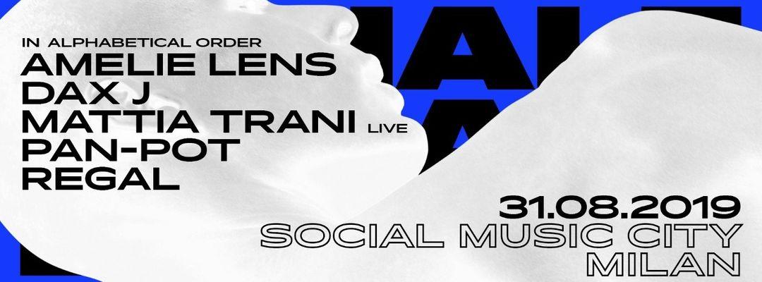 Exhale Milan with Amelie Lens, Pan-Pot, Dax J, Mattia Trani, Regal event cover