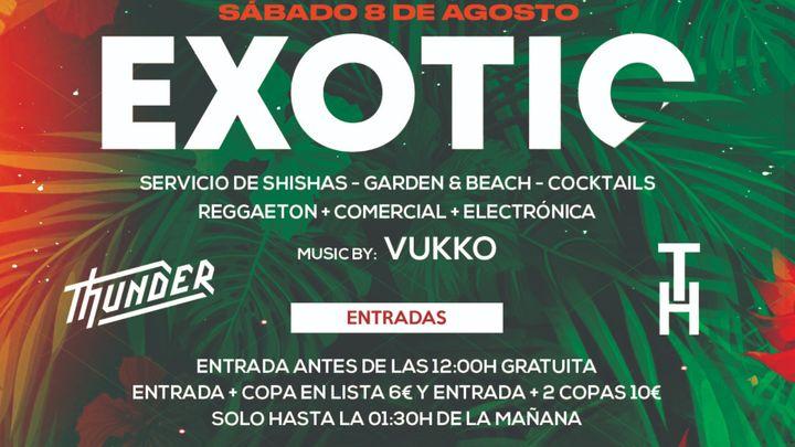 Cover for event: Exotic Sábado 8 de Agosto