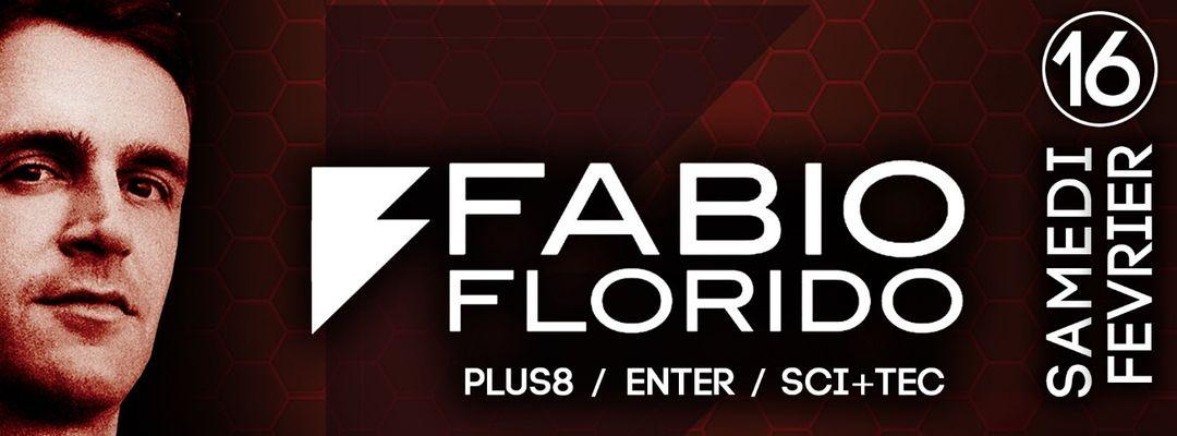 FABIO FLORIDO @PZ city club-Eventplakat