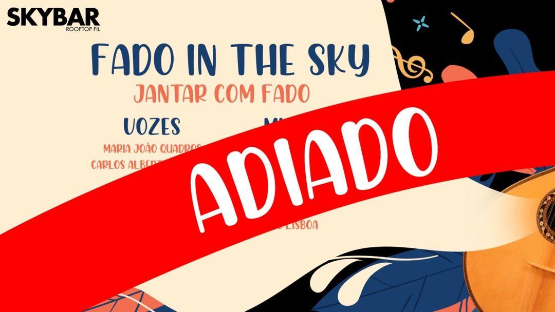 Cartel del evento Fado in The Sky