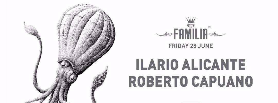 Capa do evento FAMILIA: ILARIO ALICANTE, ROBERTO CAPUANO