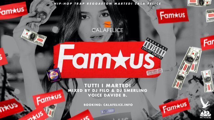Cover for event: Fam★us il Martedi HipHop / Reggaeton / Trap