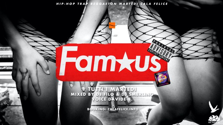 Cover for event: Fam★us il Martedi HipHop / Reggaeton / Trap