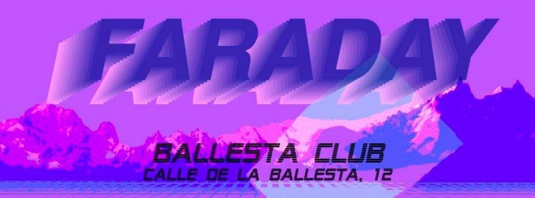 Cartel del evento Faraday