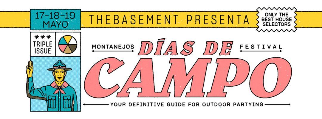 Cartel del evento Festival Días de Campo 2019
